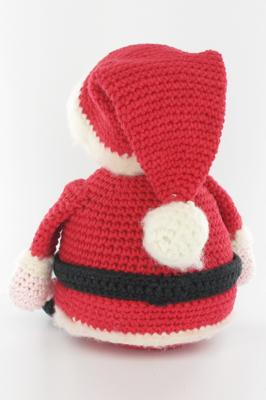 Tutorial Babbo Natale all'uncinetto amigurumi IV parte - Santa ... | 400x266