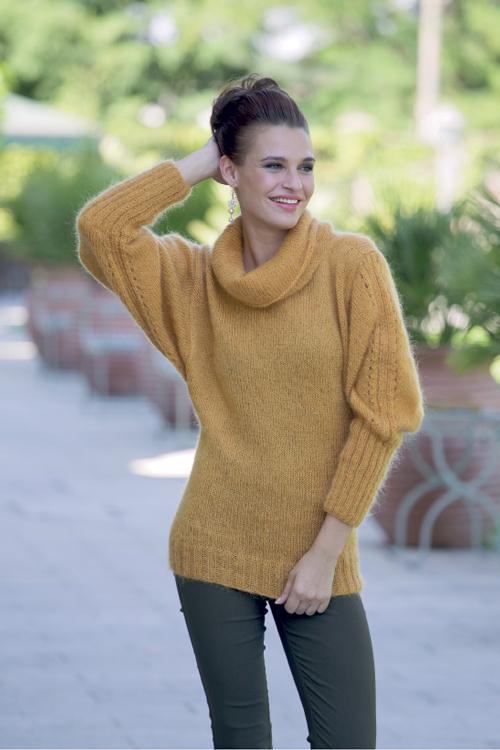 comprare popolare 0bfe0 4a30f Schema per maglione in soffice mohair - Trichi | Maglia ...