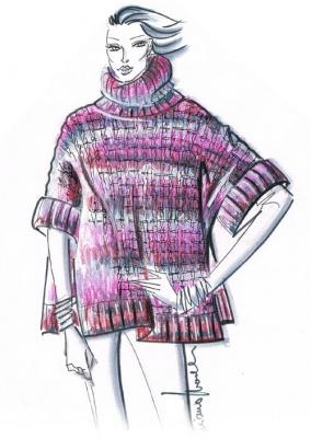 oanacrochet: Crochet leafs blouse/ Maglia foglie all'uncinetto | 400x284
